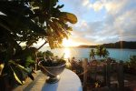 640x426Sofitel Bora Bora Private Island Sunset Champagne