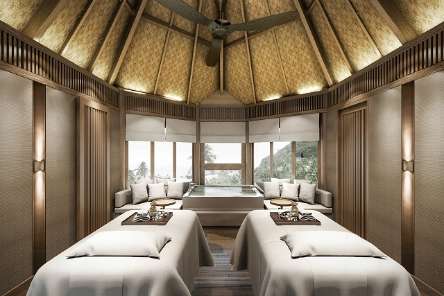 Exotic bora bora vacation 5 nights at the new conrad for Spa vacation packages for couples