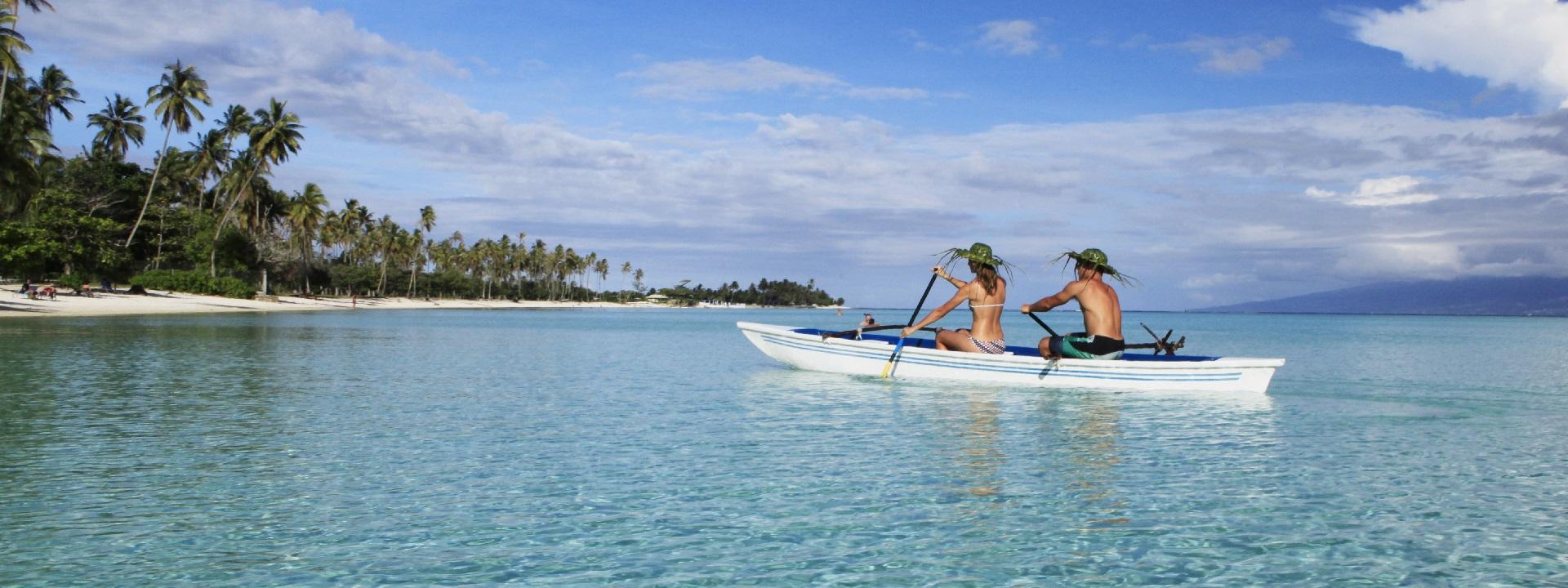 Sofitel Moorea Ia Ora free Outrigger Canoe